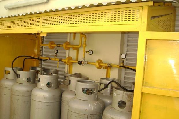 Kho gas cho các bếp công nghiệp