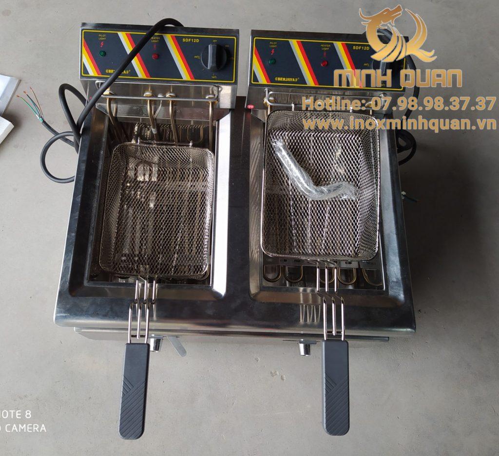 Bếp chiên nhúng đôi SDF12D