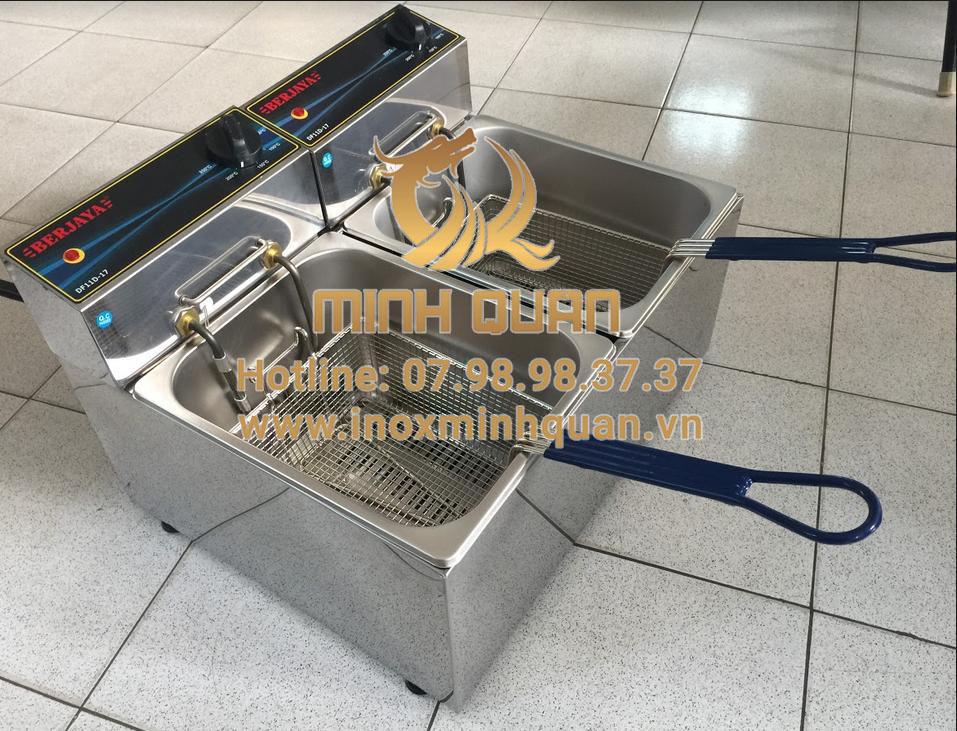 Bếp chiên nhúng điện đôi DF11D-17