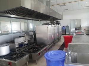 Công trình bếp ăn tập thể của công ty 76 Bộ Quốc Phòng