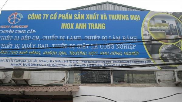 Công ty thiết kế hệ thống bếp công nghiệp Anh Trang.