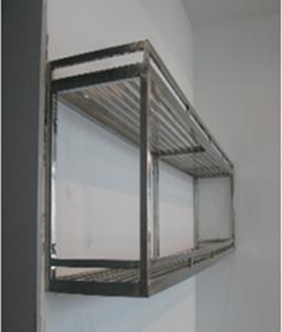 Giá treo tường 1 tầng, thiết bị bếp inox