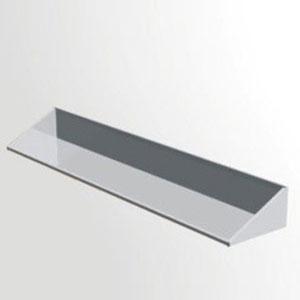 Giá phẳng inox treo tường 1 tầng