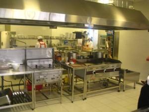 bếp công nghiệp, hệ thống bếp inox công nghiệp