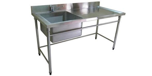 thiết bị bếp công nghiệp chậu rửa