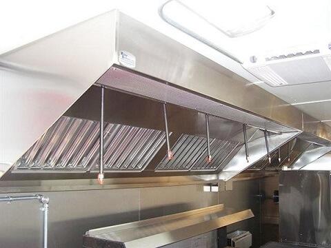 thiết bị bếp công nghiệp hút mùi