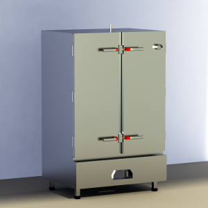 tủ cơm gas 80kg công nghiệp cao cấp