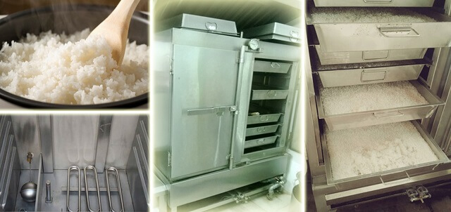 Vệ sinh tủ cơm công nghiệp đúng cách để nấu cơm ngon