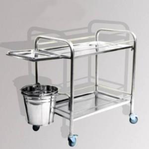 Xe đẩy inox- công cụ hỗ trợ đắc lực trong lĩnh vực y tế