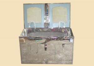 Bồn rửa tay phẫu thuật 2 vòi tự động